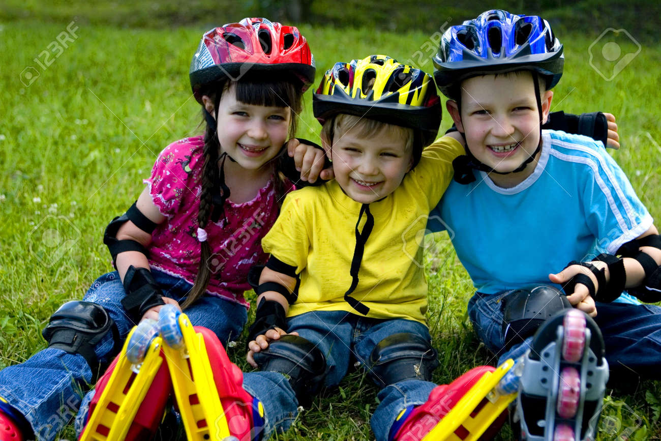 Happy children Stock Photo - 695866
