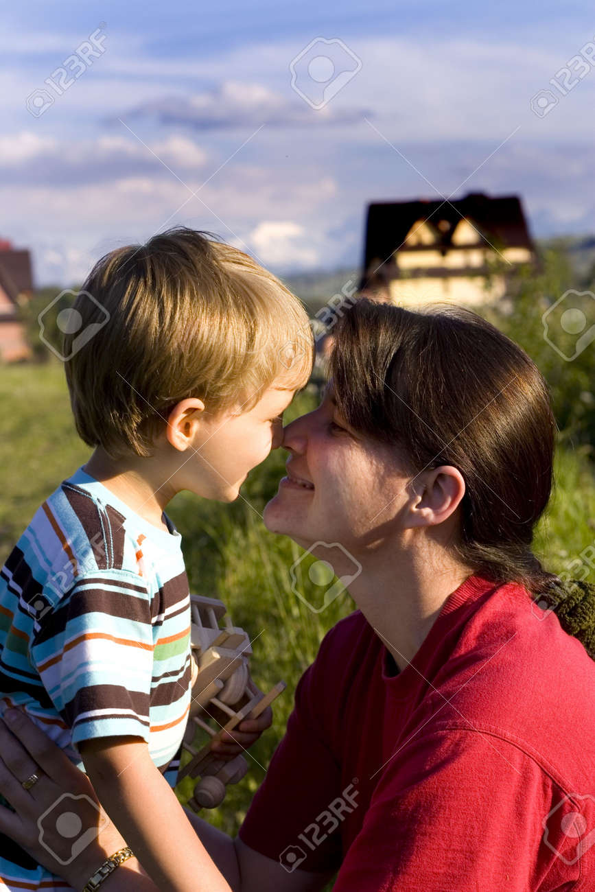 mother with son Stock Photo - 720877