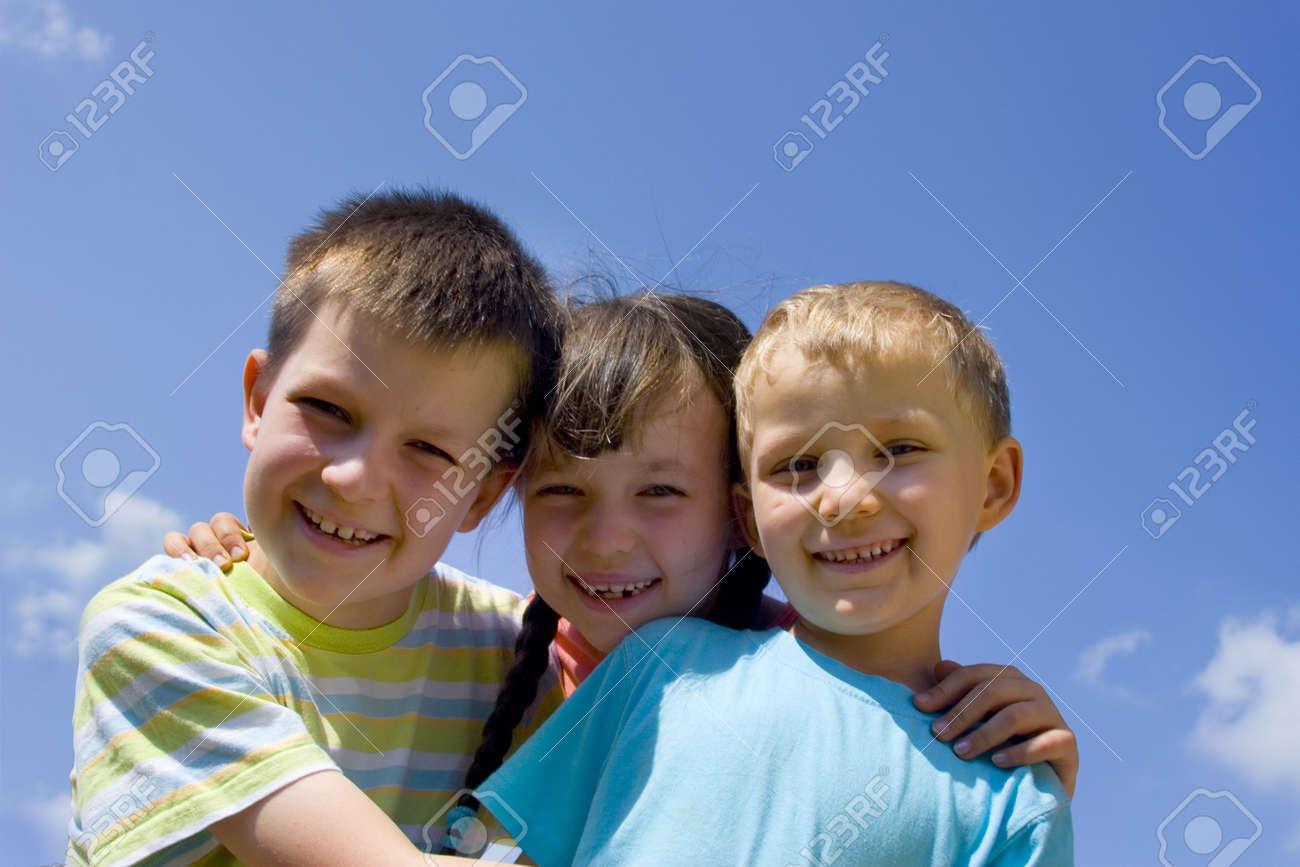Happy children Stock Photo - 714428
