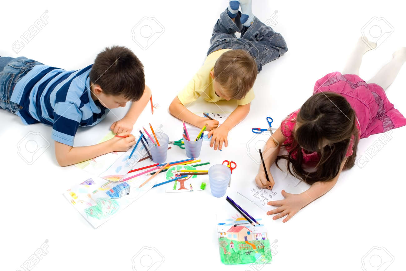 children drawing stock photo 767344 - Drawing And Painting For Kids