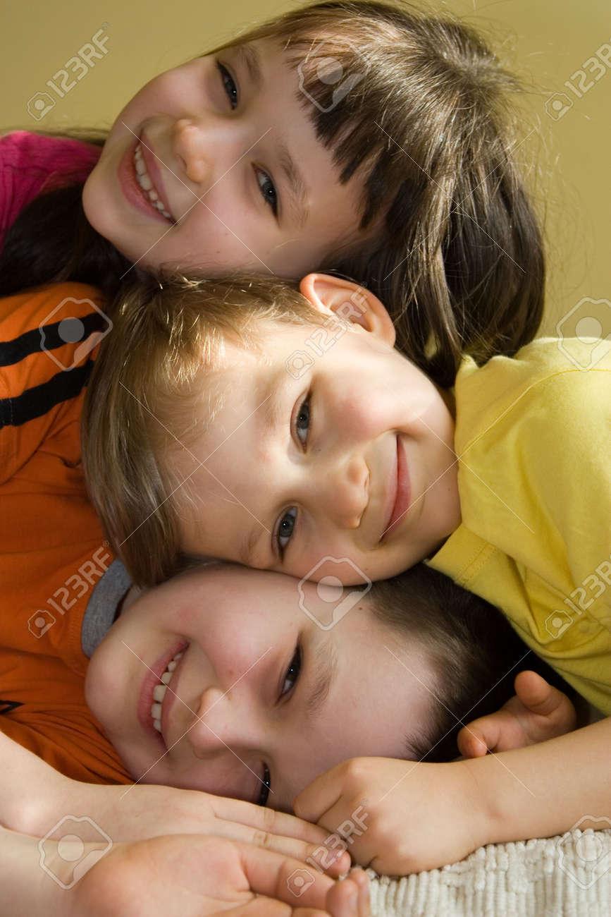 children at home Stock Photo - 870633