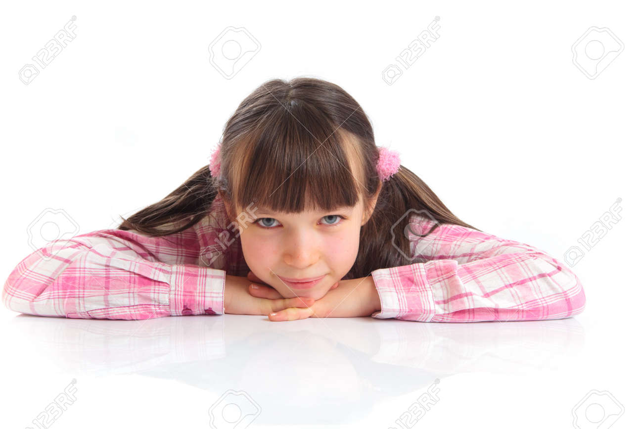 Portrait of cute girl Stock Photo - 4615292