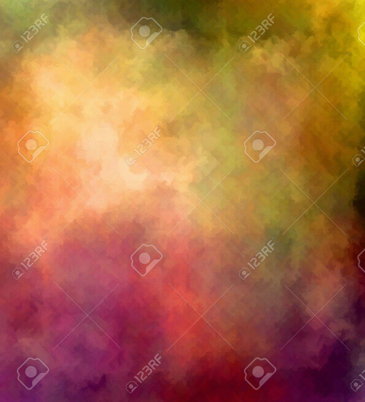 colorful textured background digital painting in scarlet green
