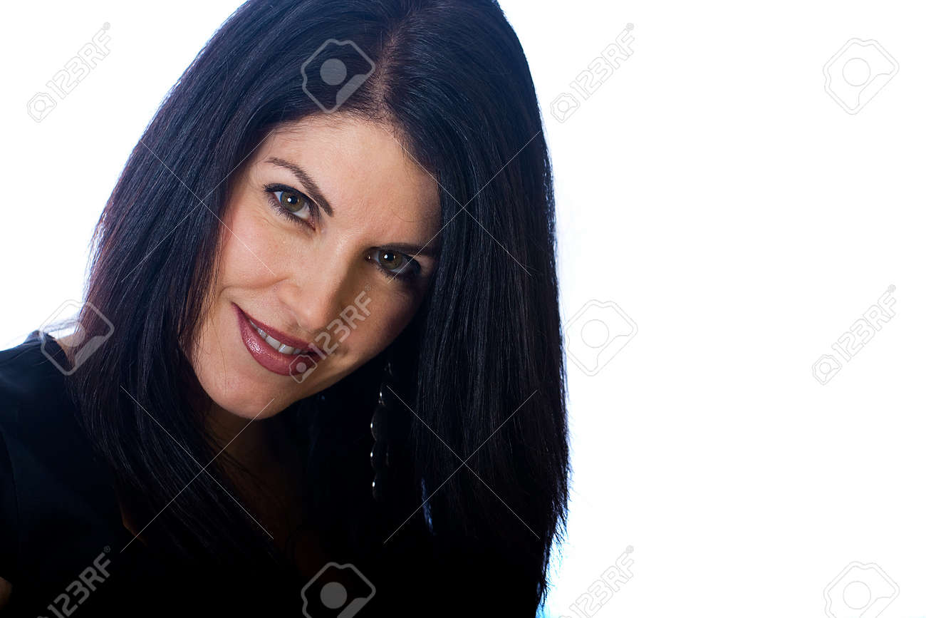 Sexy, middle aged woman Stock Photo - 11814887