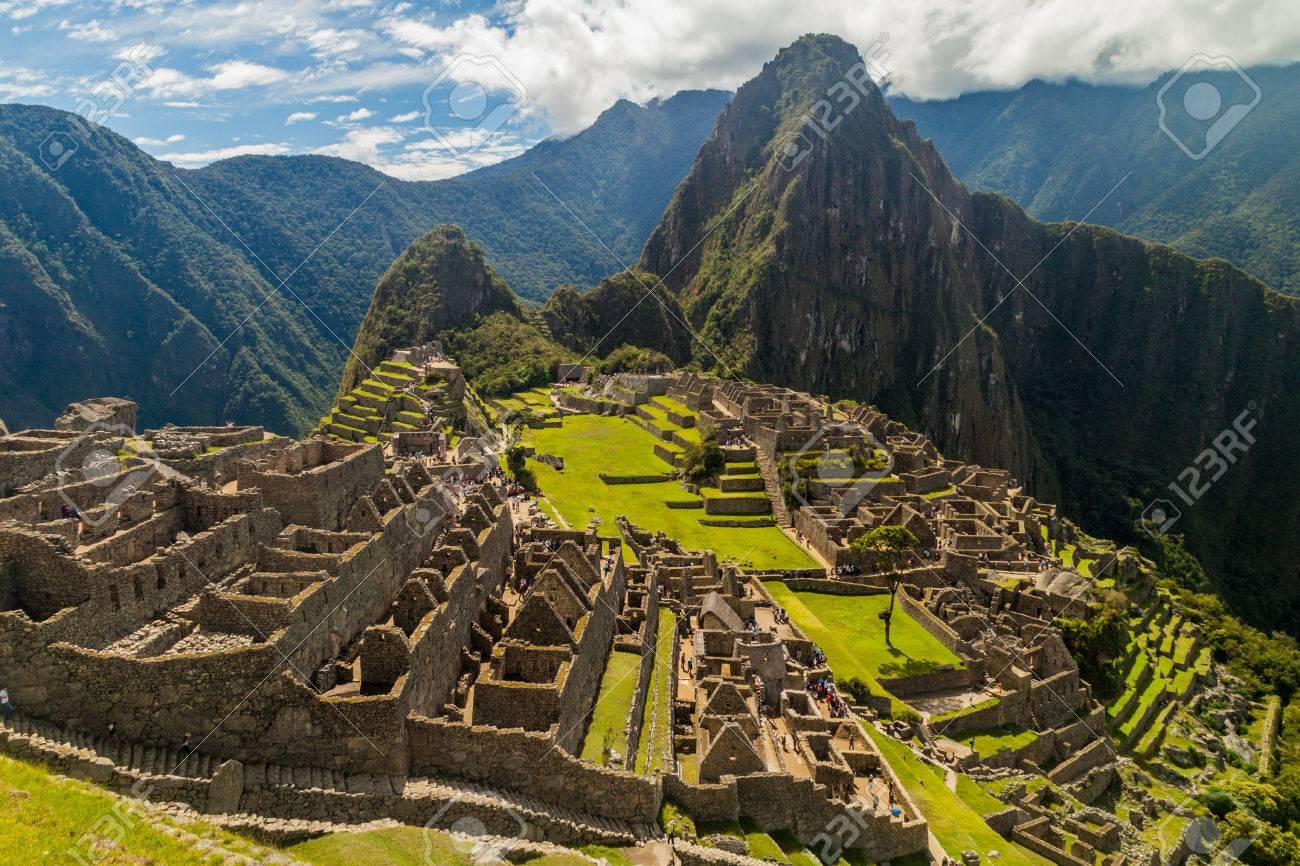 Machu Picchu ruins in Peru - 59022520