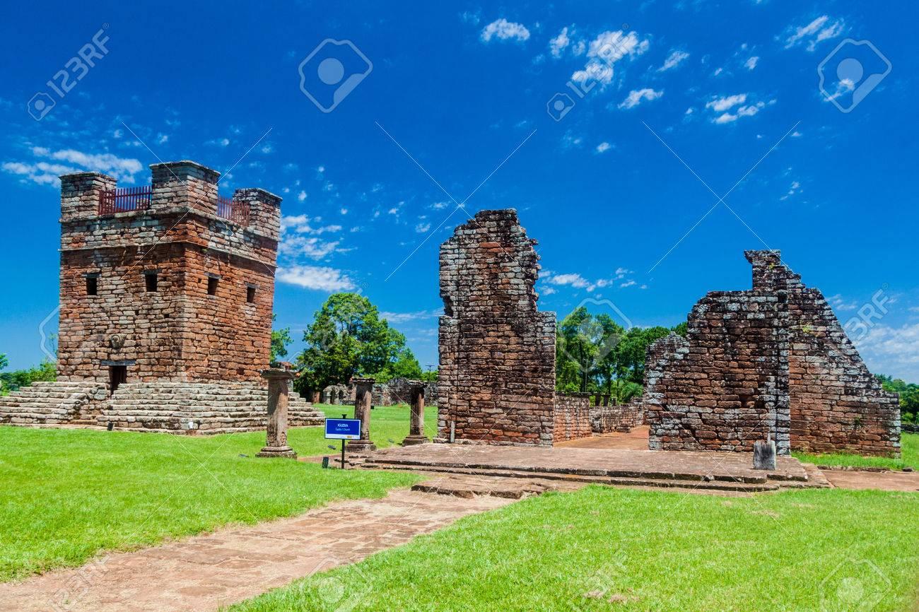 Jesuit mission ruins in Trinidad, Paraguay - 60033349