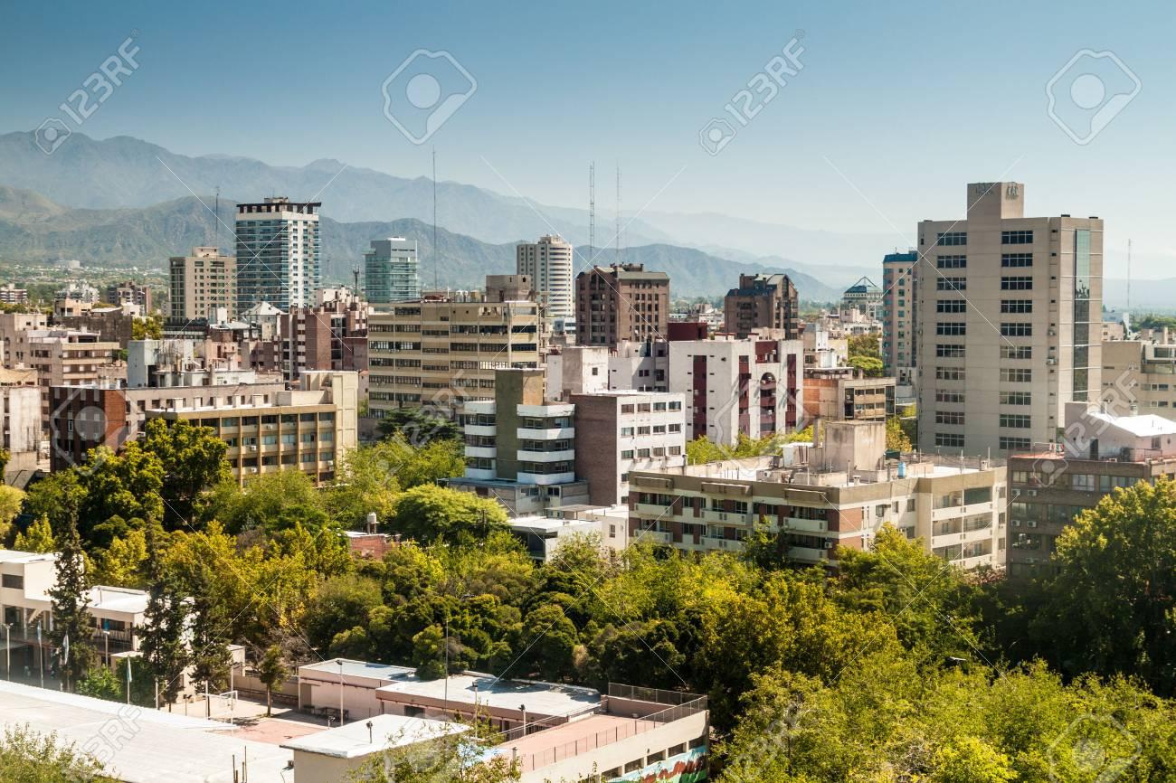 Aerial view of Mendoza, Argentina - 59747988