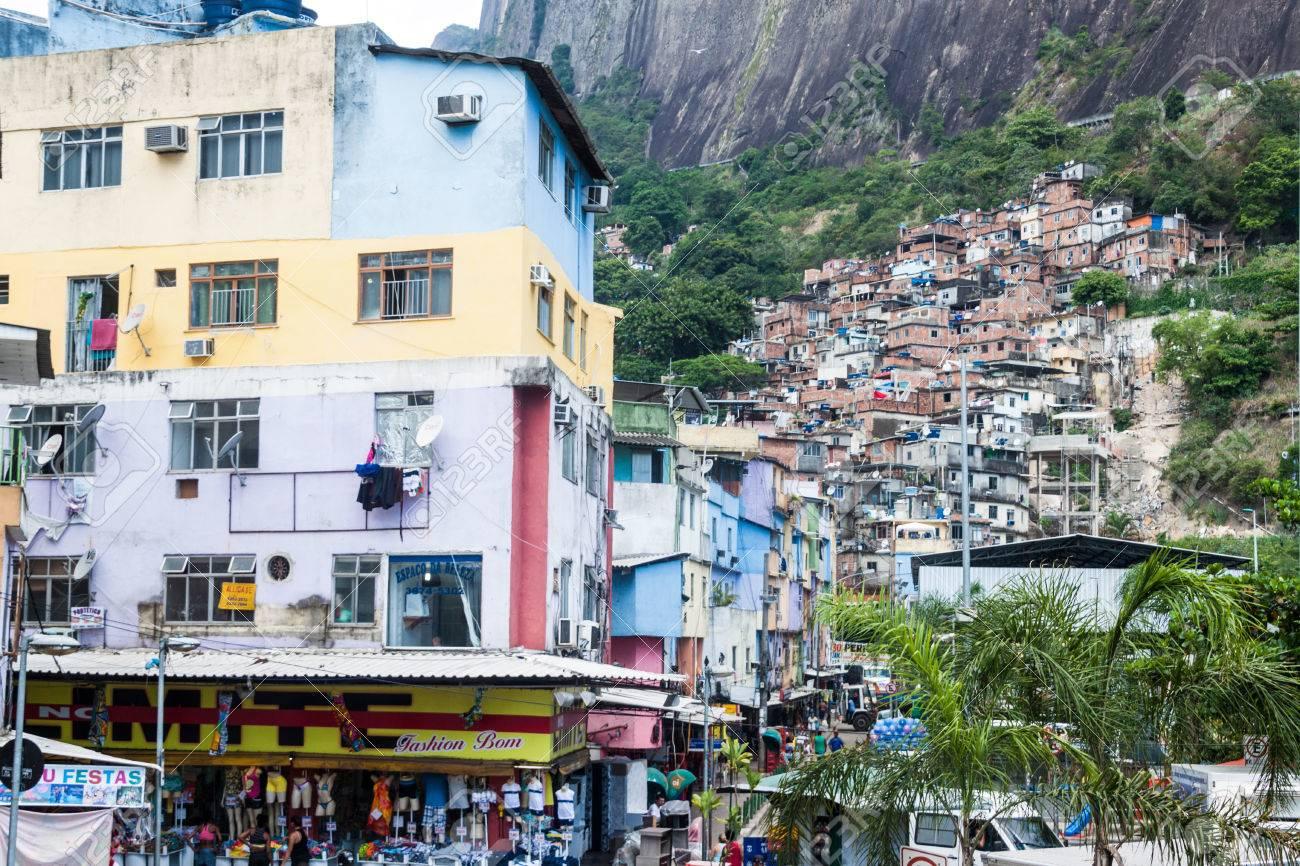 rio de janeiro brazil jan 29 view of favela rocinha in rio