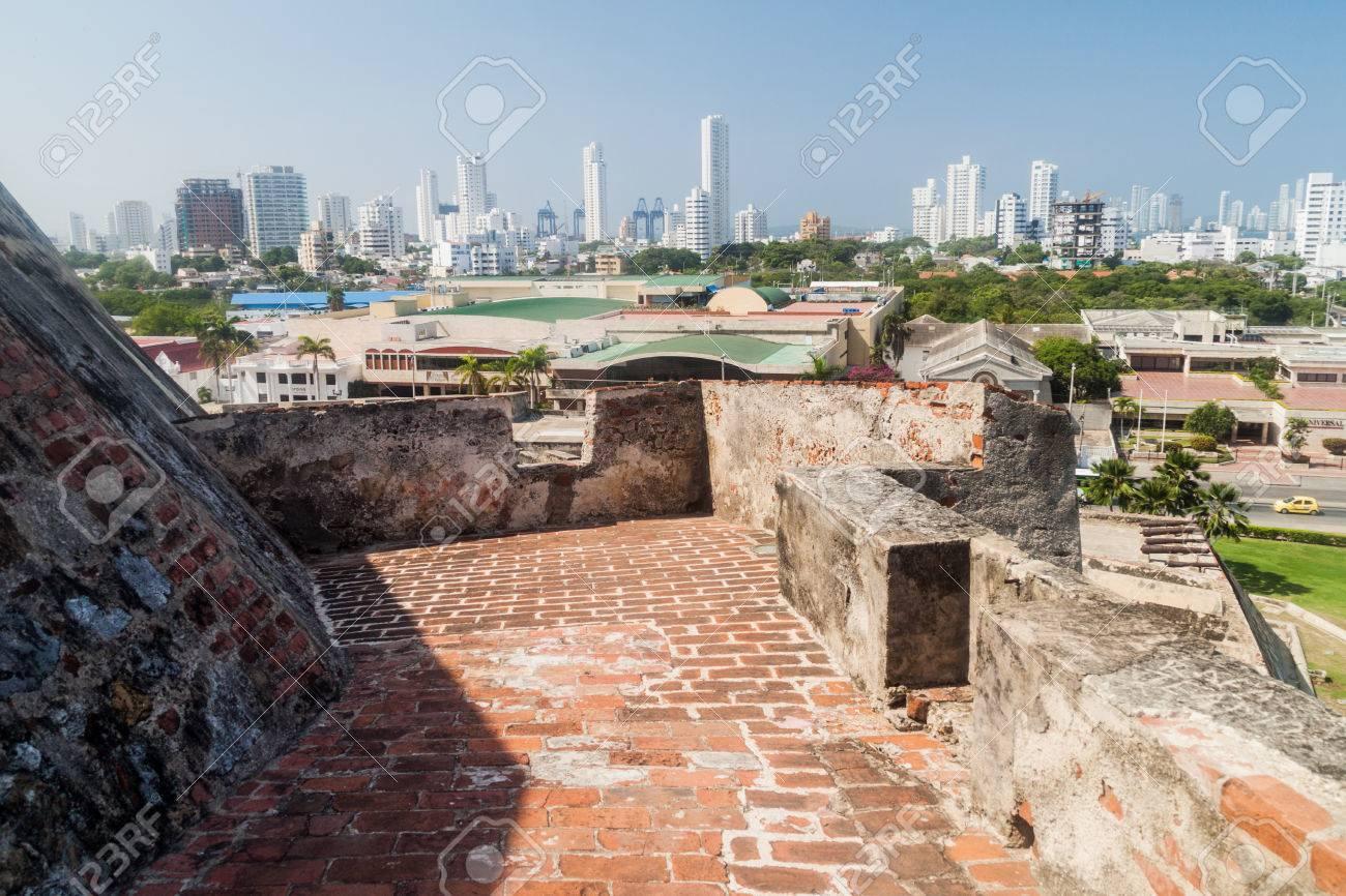 Castillo De San Felipe De Barajas Castle In Cartagena De Indias