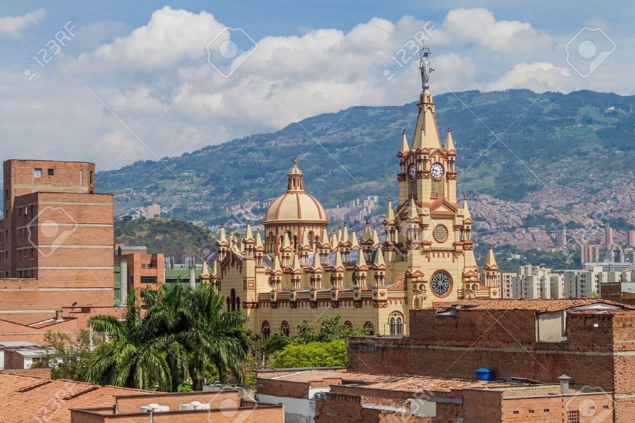 Jesus Nazareno Church In Medellin, Colombia - 68174212