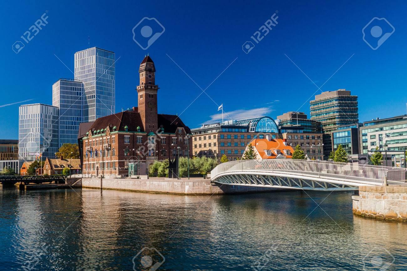 Urban landscape of Malmo, Sweden - 83672845