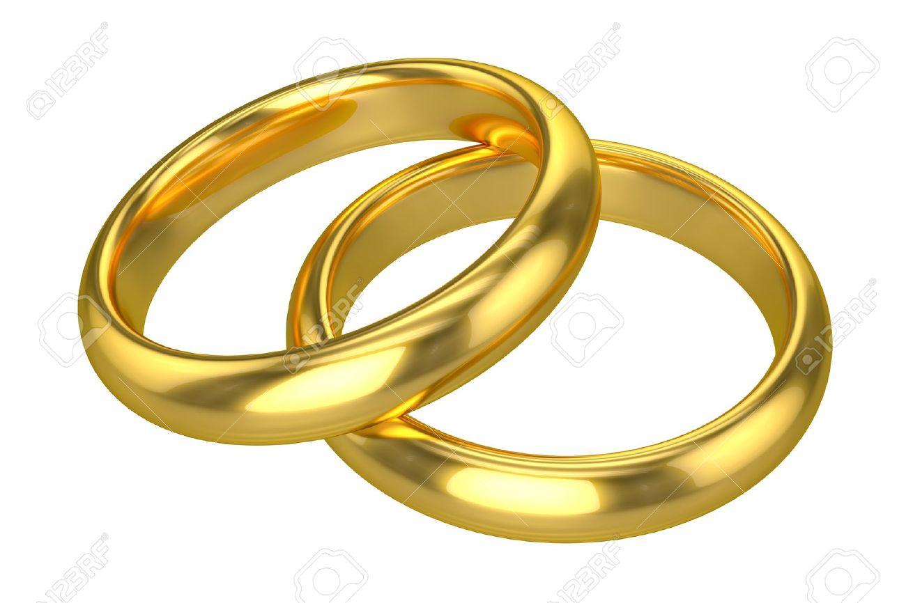 Anneaux De Mariage Realistes Or Banque D Images Et Photos Libres De Droits Image 21133995