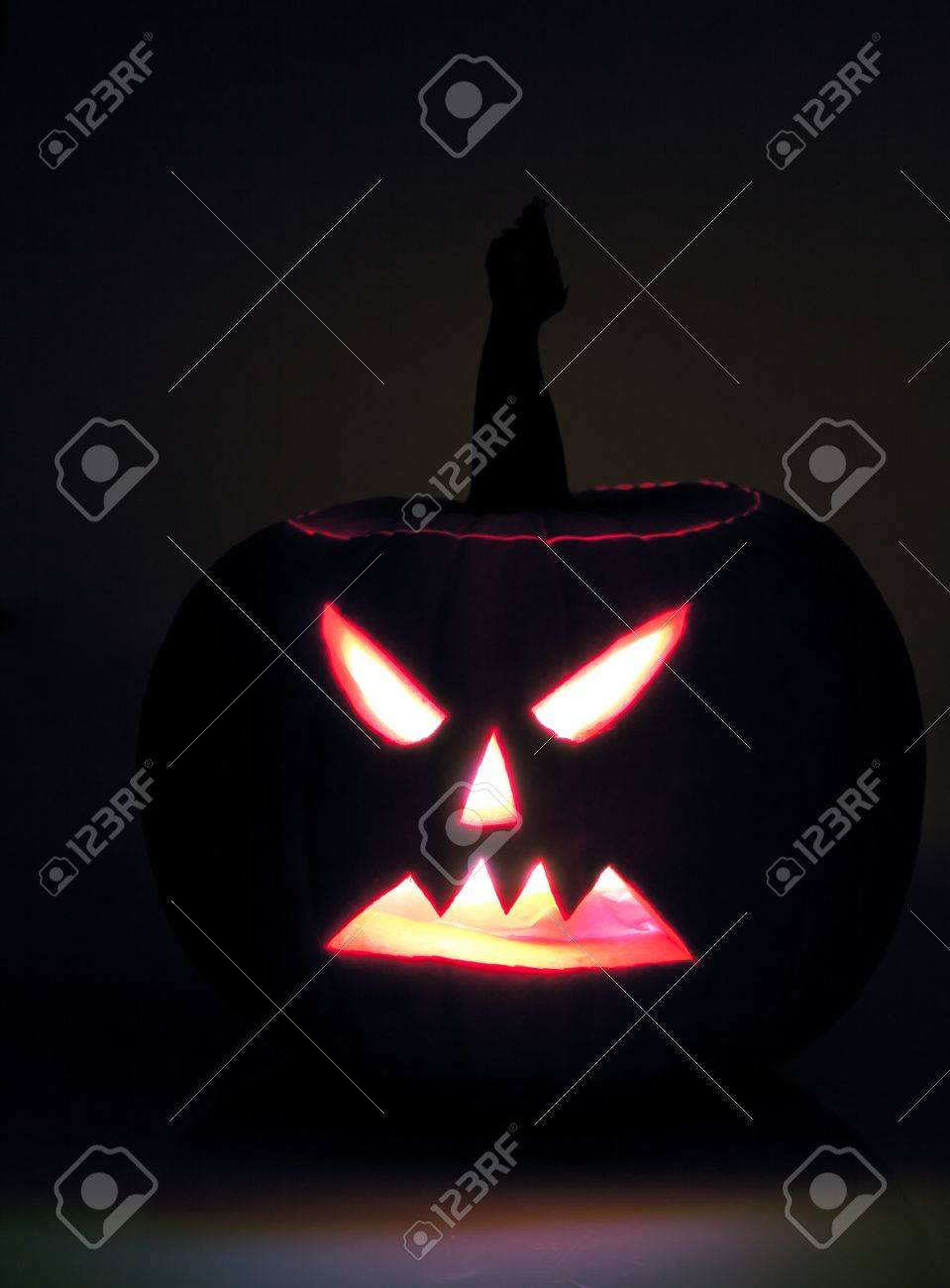 Halloween Scary Jack O Lantern Pumpkin Faces Stock Photo Picture And Royalty Free Image Image 10541577
