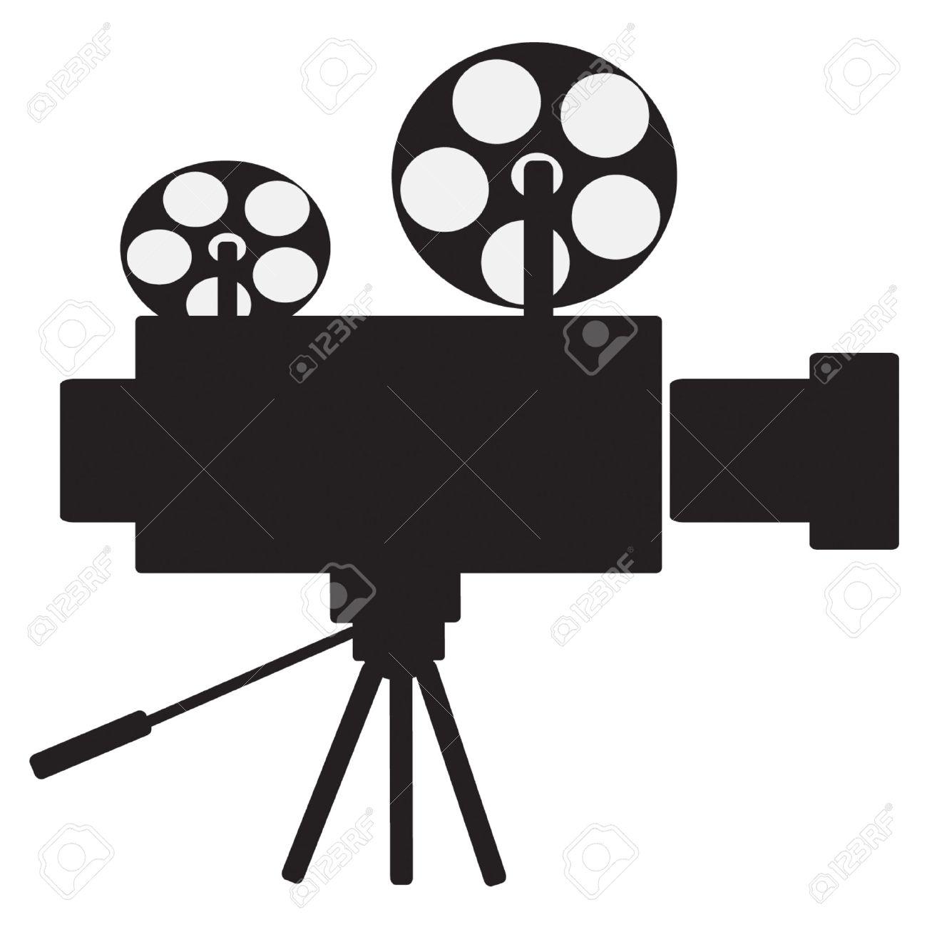 Film Projector Vector Clip Art Royalty Free Cliparts, Vectors, And ...