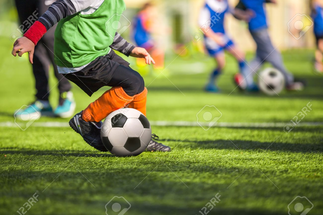 Football training for children - 50563271