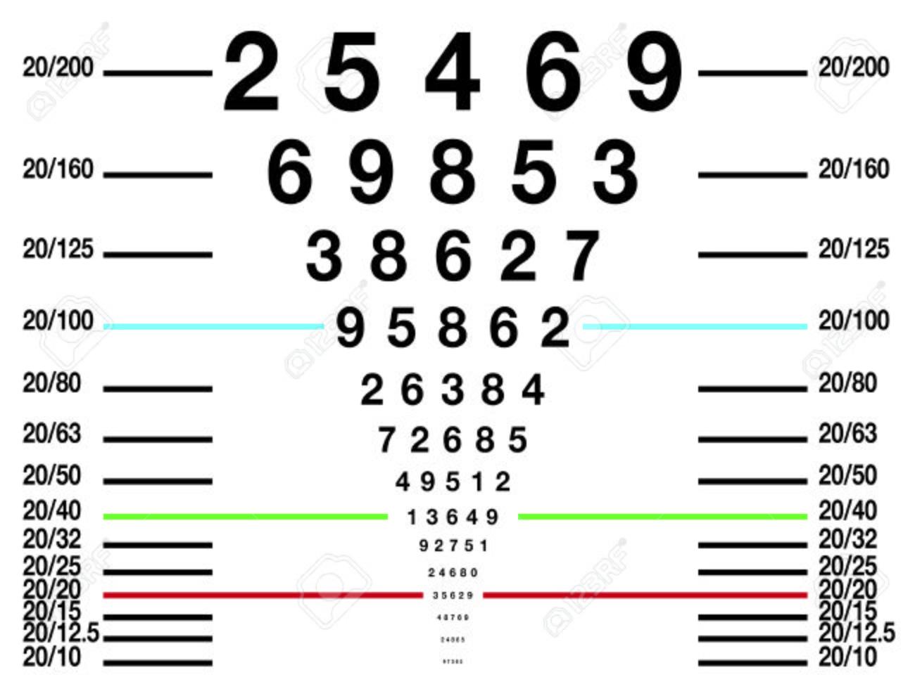 Eye sight test chart or snellen chart stock photo picture and eye sight test chart or snellen chart stock photo 47358482 geenschuldenfo Choice Image