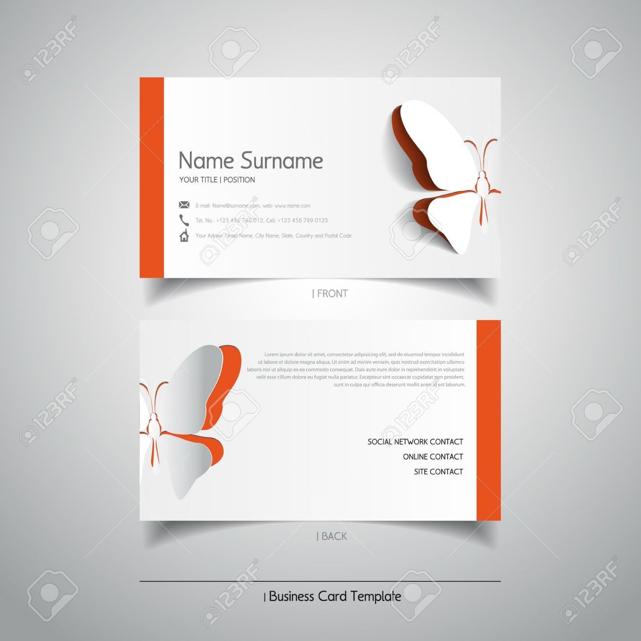 Butterfly business card akbaeenw butterfly business card colourmoves