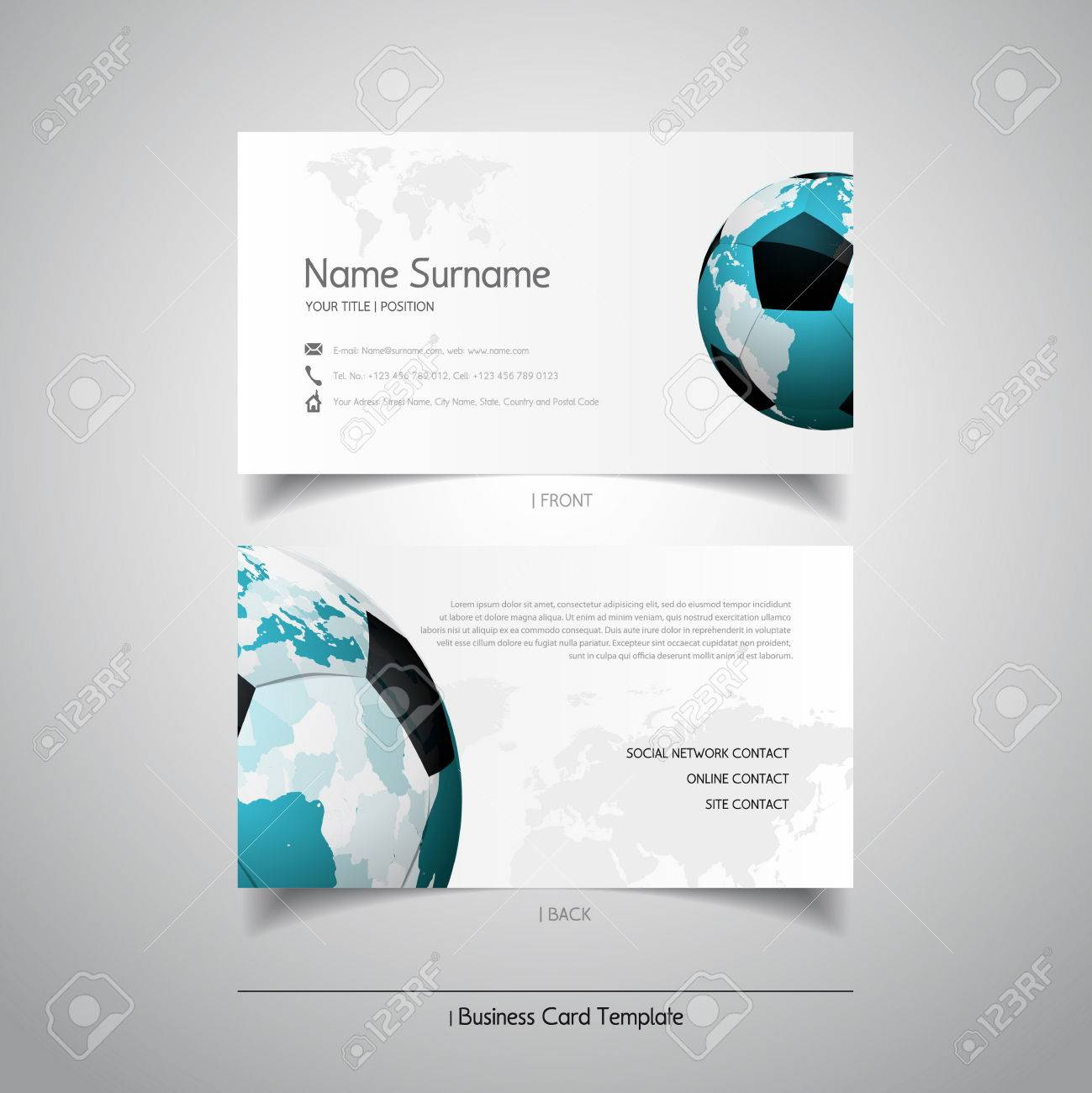 Soccer business cards images free business cards modern simple light business card template with soccer ball modern simple light business card template with magicingreecefo Gallery