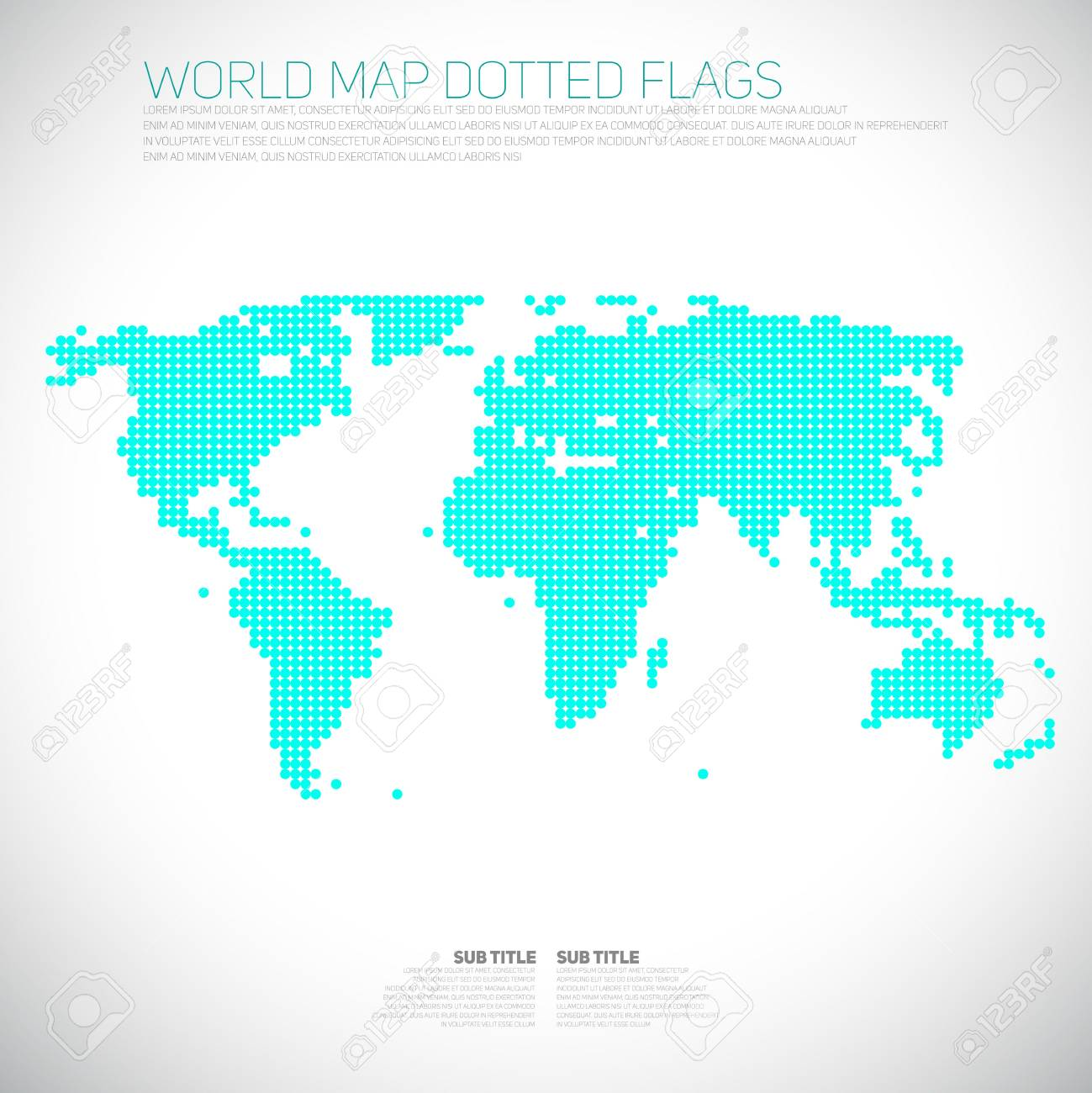 Infographics world map from dots communication concept royalty infographics world map from dots communication concept stock vector 29267655 gumiabroncs Gallery