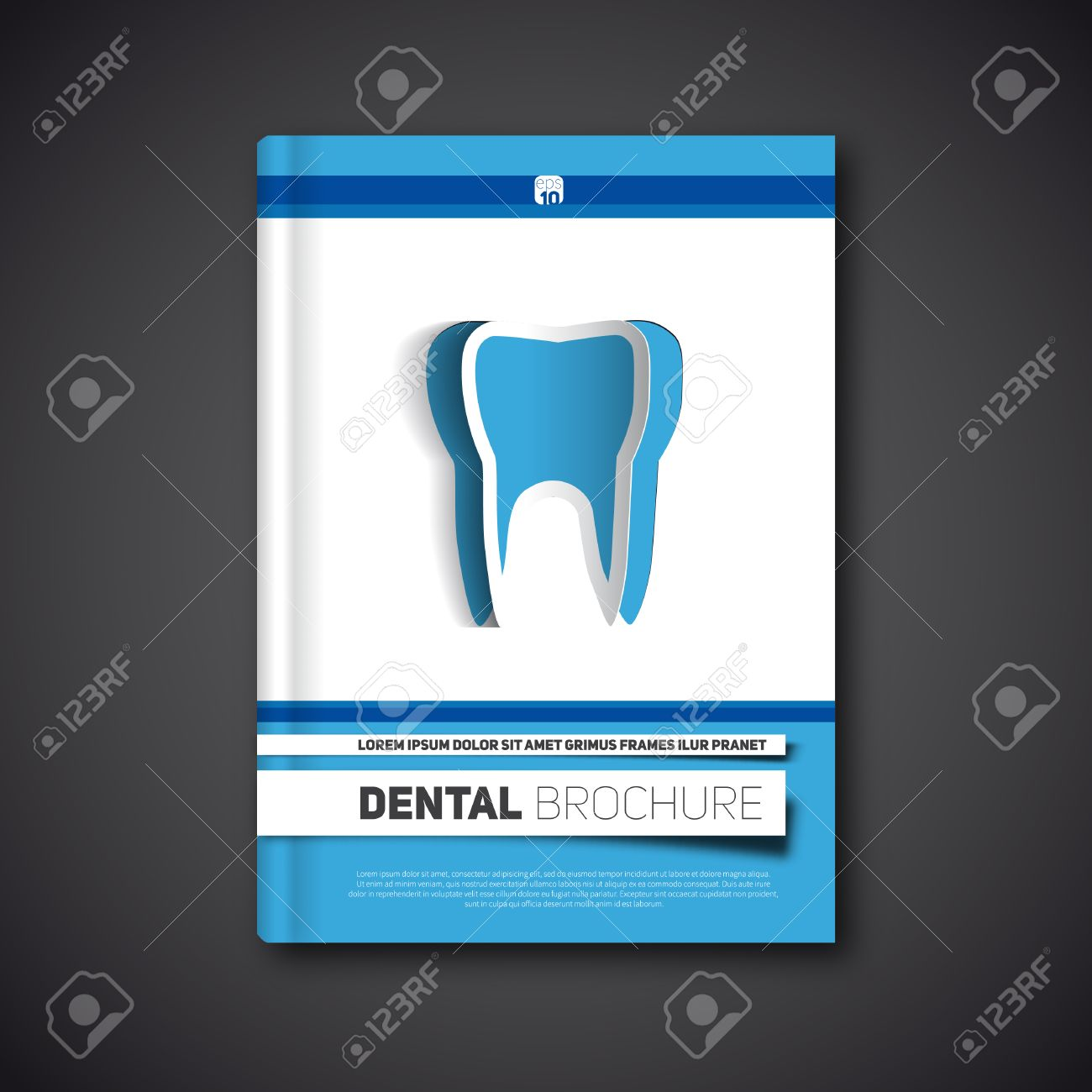 Dental Flyer Template Illustration, Stract Brochure, Book, Flyer ...