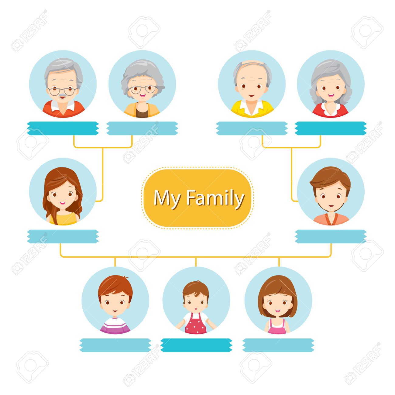 Happy family tree relationship togetherness infographic diagram happy family tree relationship togetherness infographic diagram lifestyle stock vector ccuart Choice Image