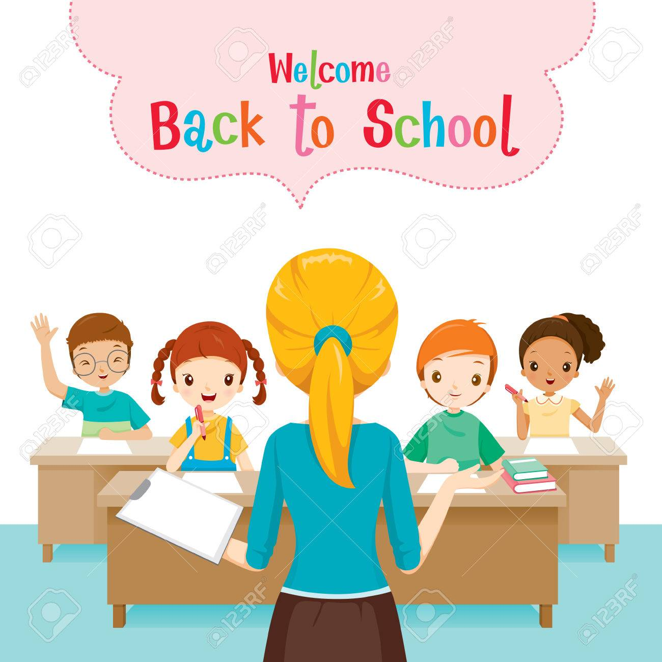 Welcome Students Book