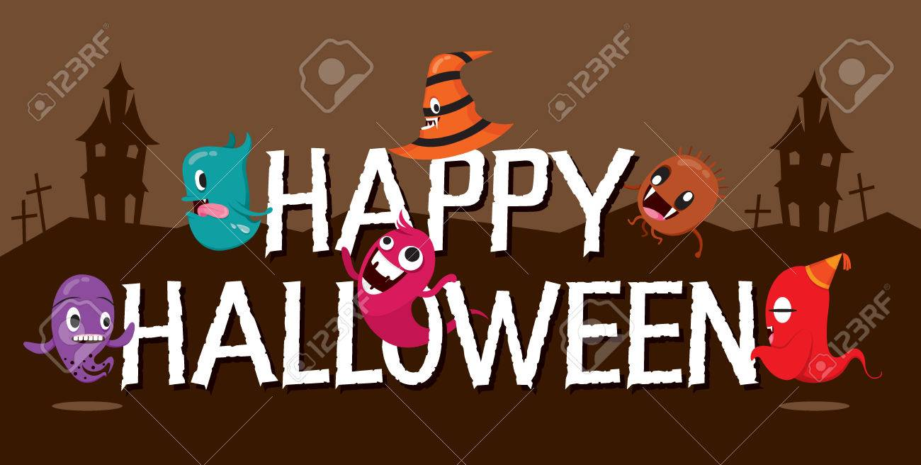 Monsters With Halloween Alphabets Mystery Trick Or Treat