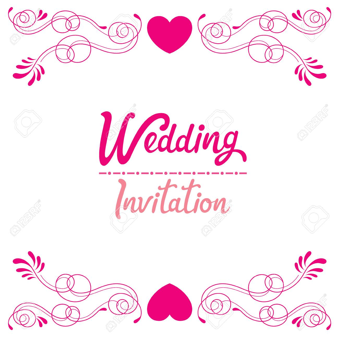 Wedding invitation card love relationship floral engagement wedding invitation card love relationship floral engagement valentines day banco de stopboris Choice Image