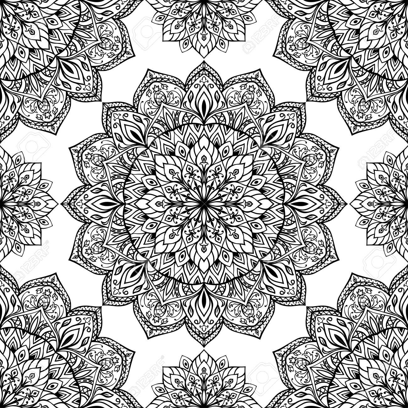 Orientalische Muster Schablonen Fur Orientalisch Wohnen 4