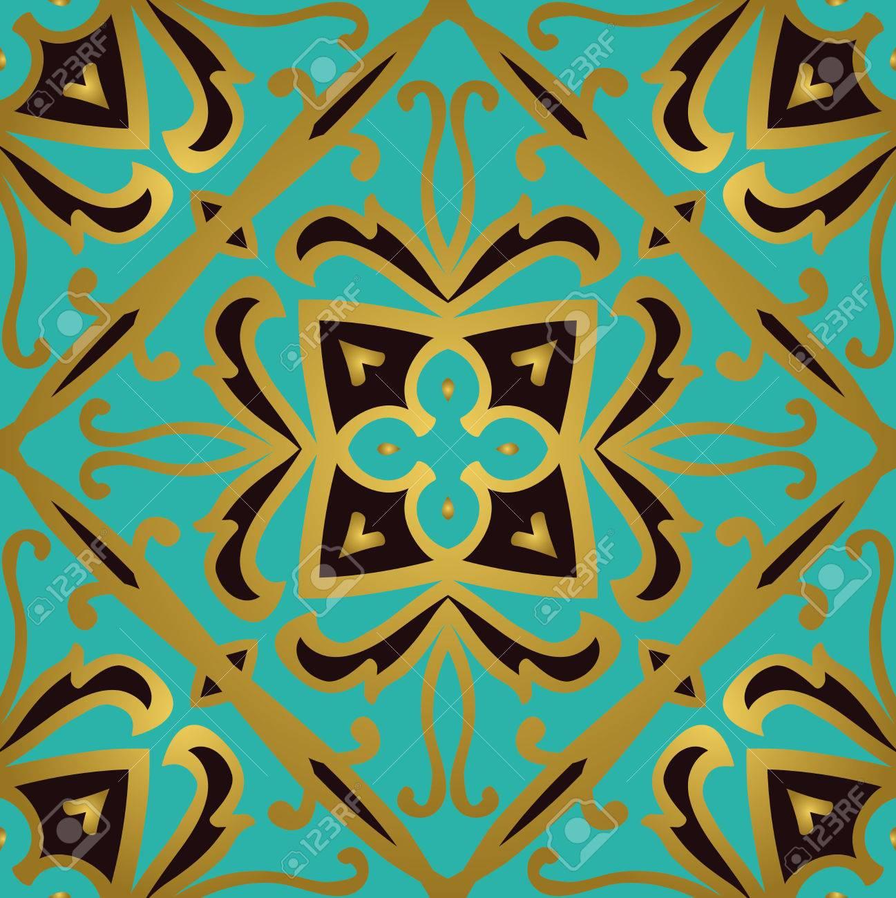 Oriental Abstrakte Ornament Vorlagen Fur Teppich Textil Tapeten