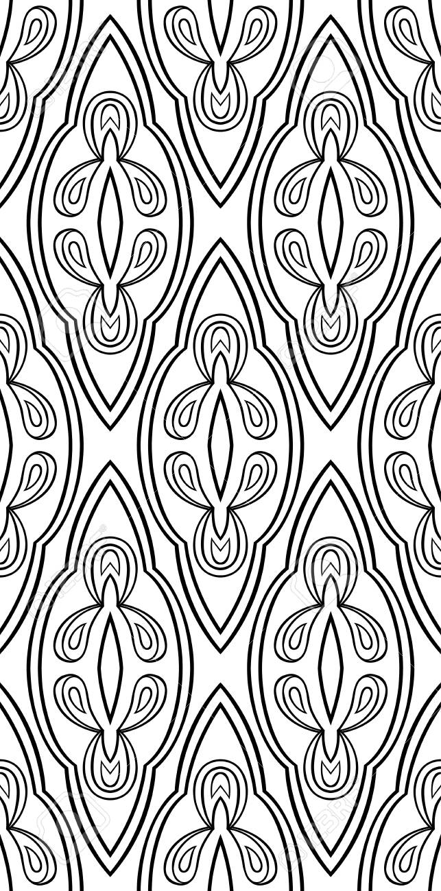 Abstract Vector Ornament Simple Template For Carpet Wallpaper Royalty Free Cliparts Vectors And Stock Illustration Image 79934739