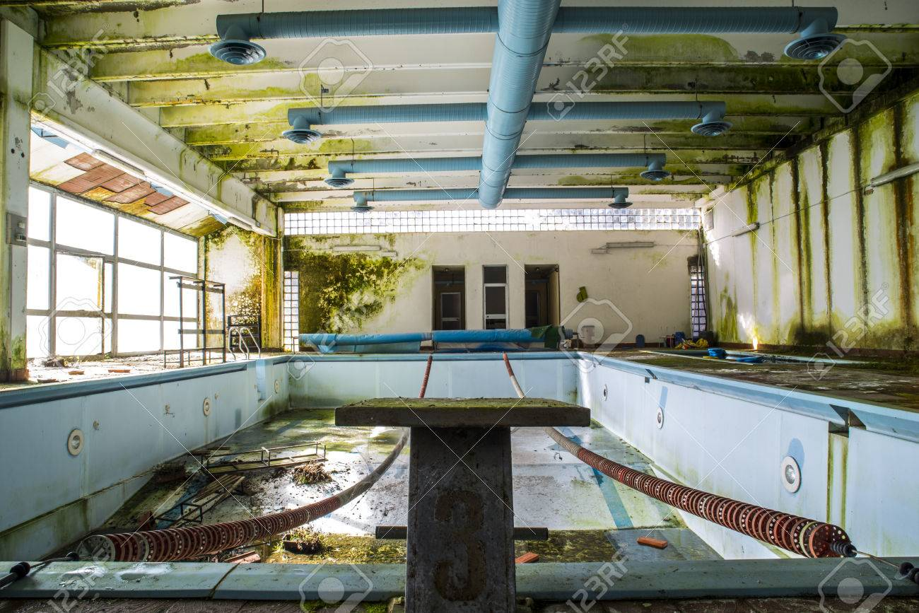 Old Abandoned Swimming Pool Stock Photo Picture And Royalty Free Image Image 38361530