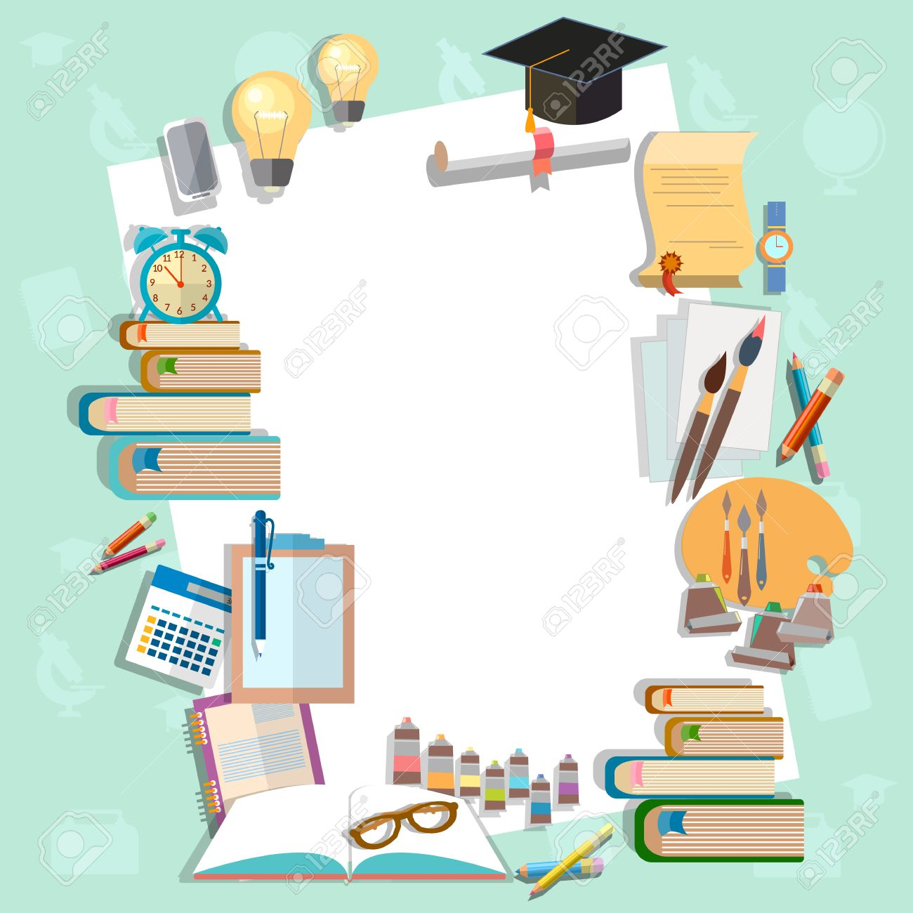 education background diploma exams back to school college campus  education background diploma exams back to school college campus algebra mathematics graduation cup vector illustration stock