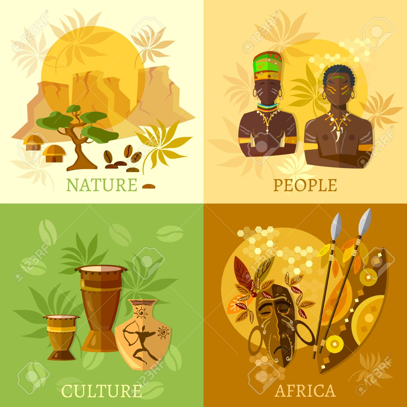 african set africa culture and traditions african tribes