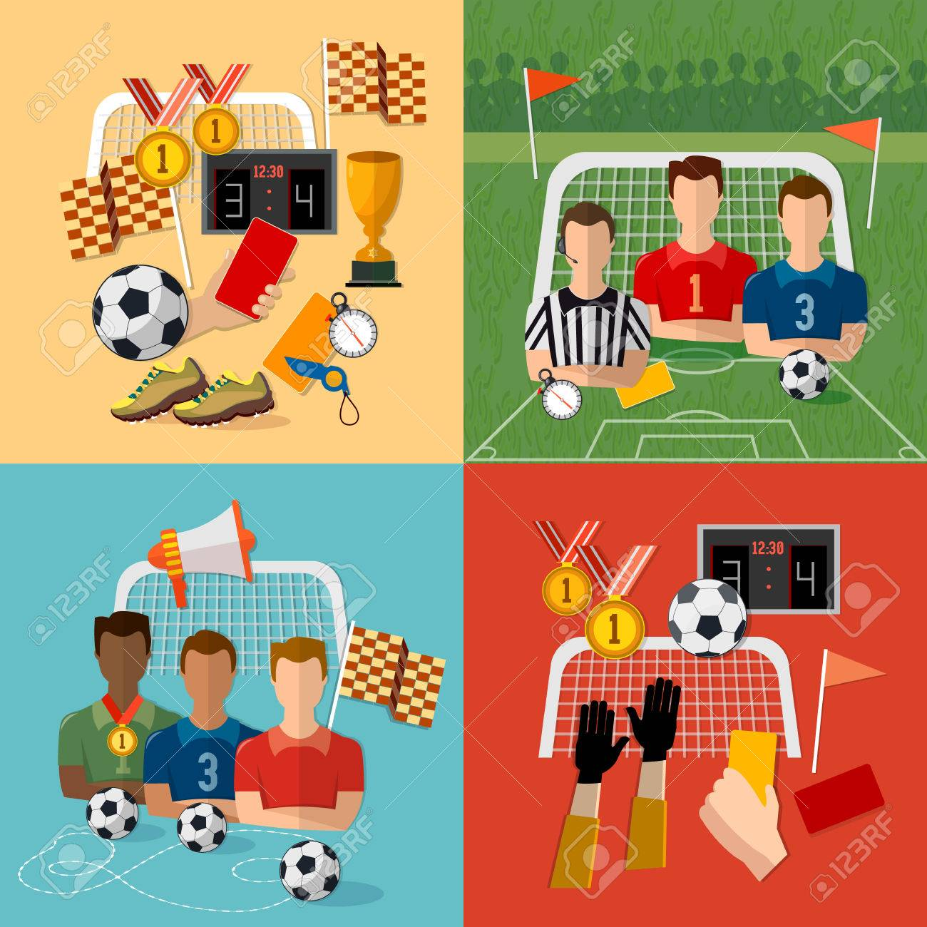 Soccer icon set football team signs and symbols of professional soccer icon set football team signs and symbols of professional soccer elements vector stock biocorpaavc Choice Image