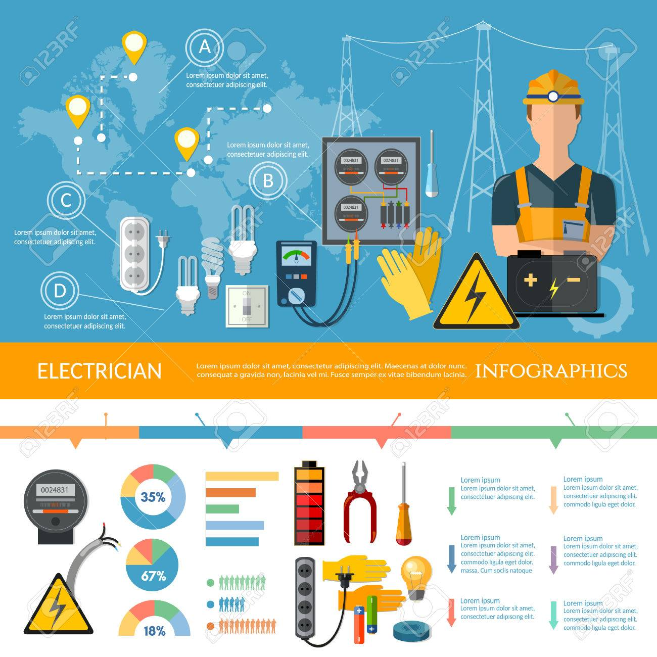 71588511-professional-electrician-infogr