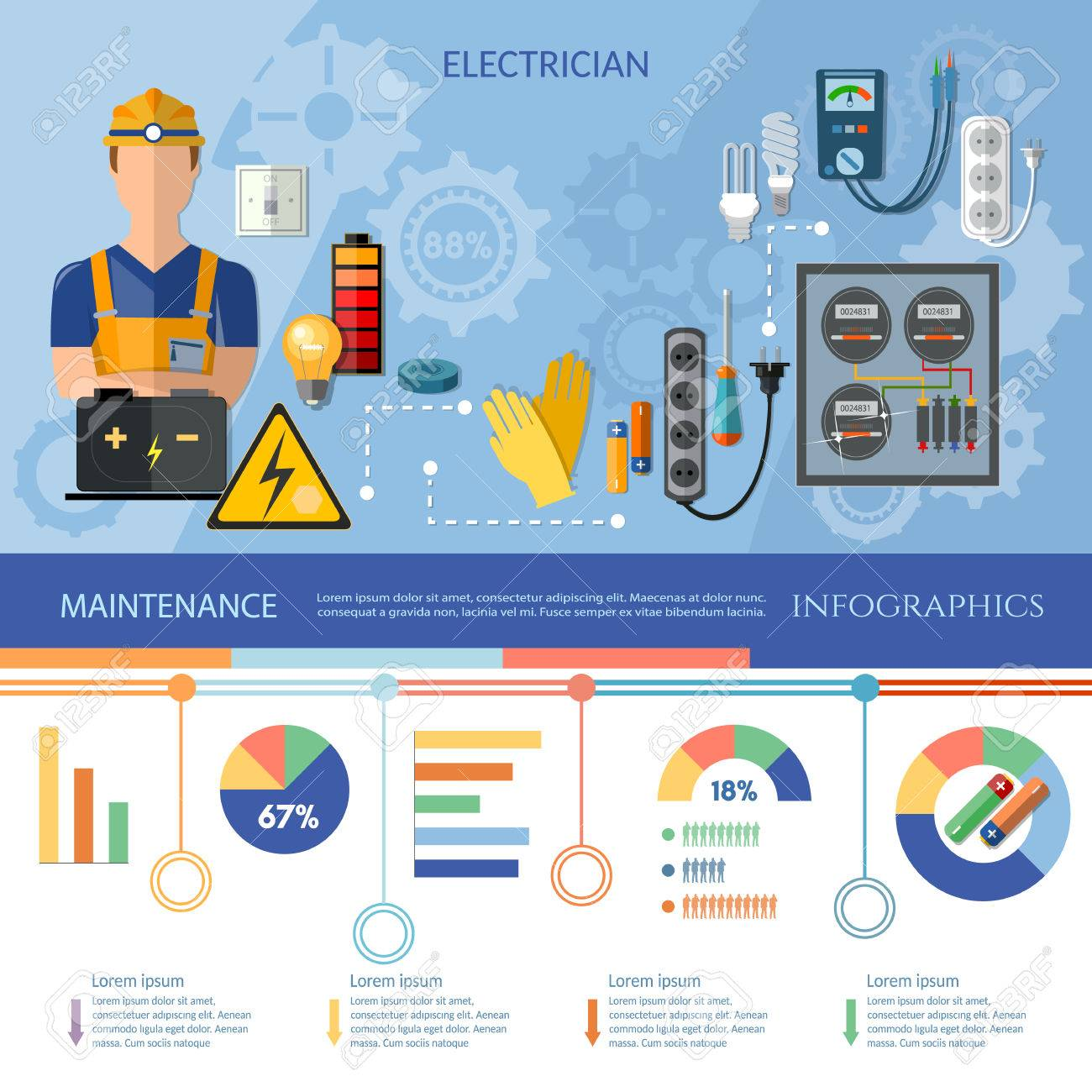 74793626-professional-electrician-infogr