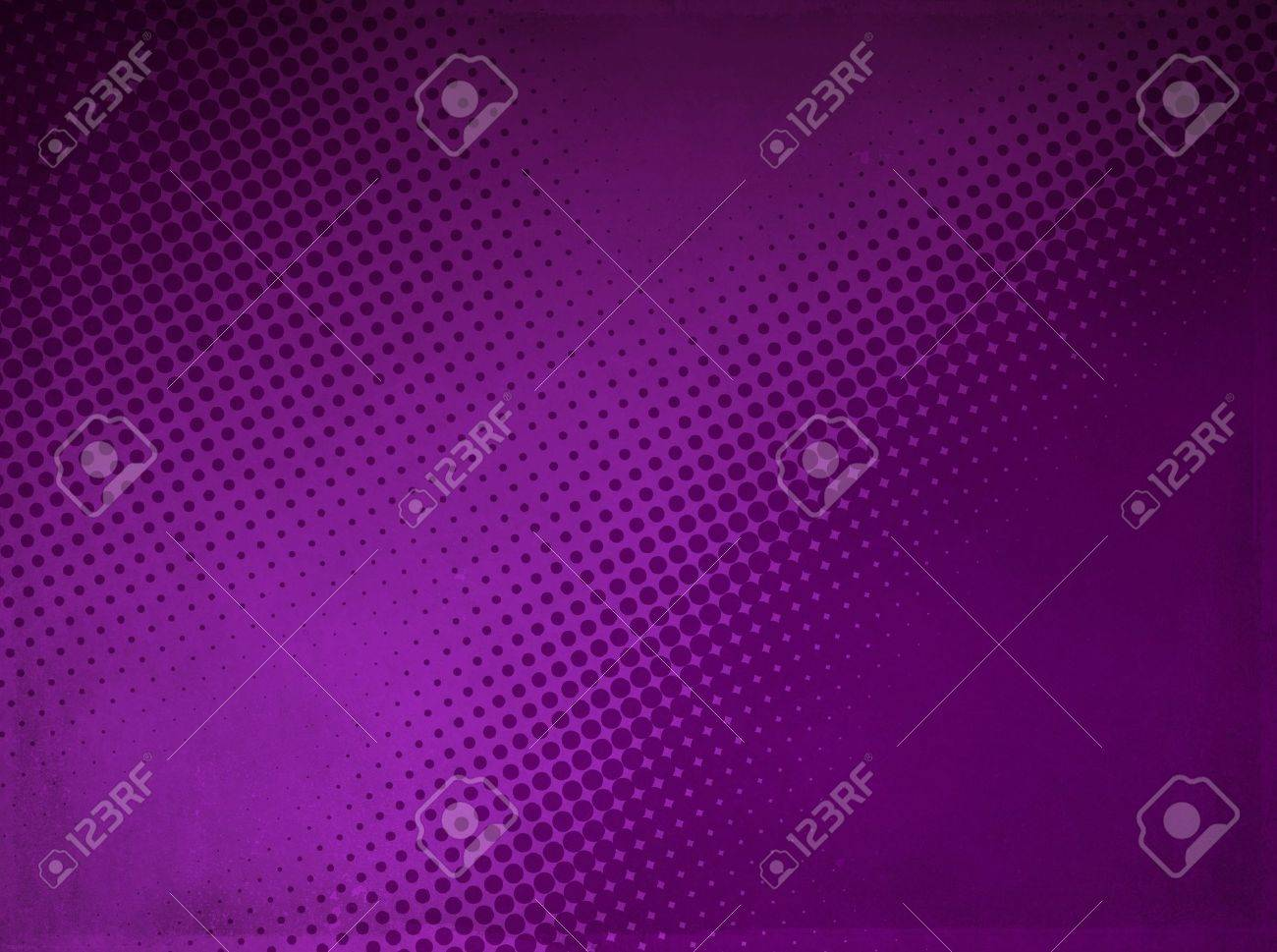 Grunge abstract halftone background made of a light and dark purple dotted pattern Stock Photo - 13032331