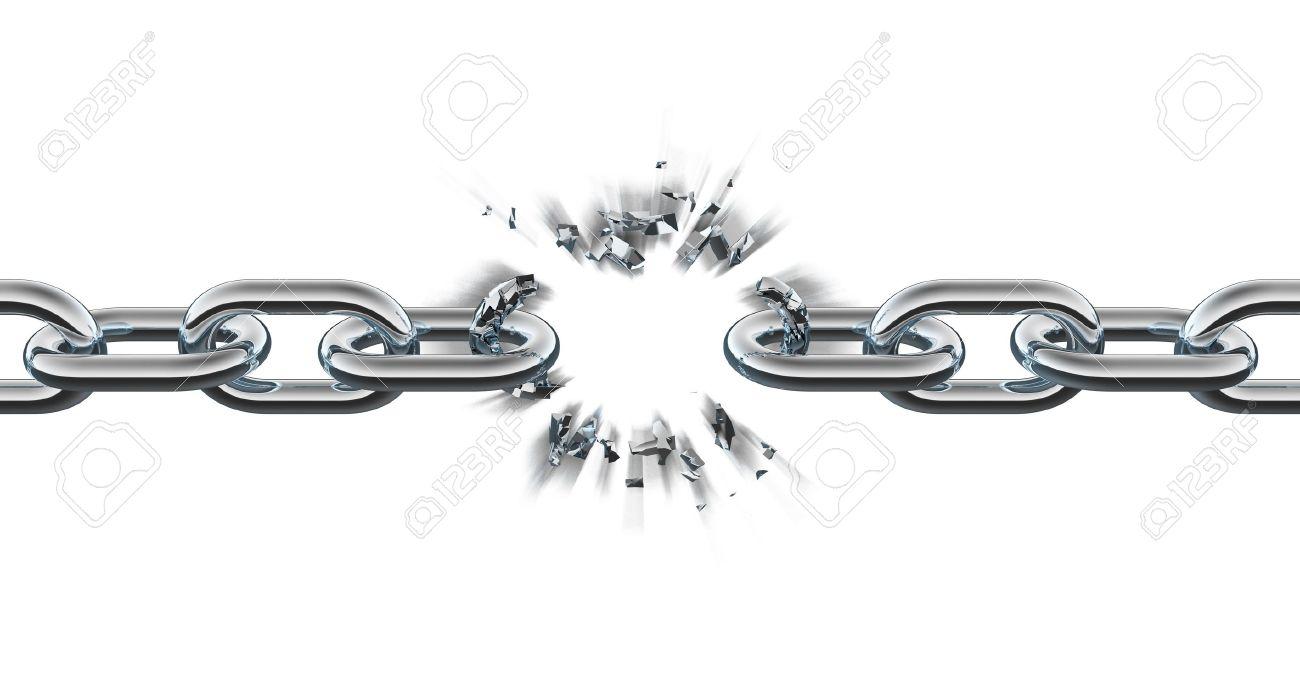 Chain breaking Stock Photo - 7321187