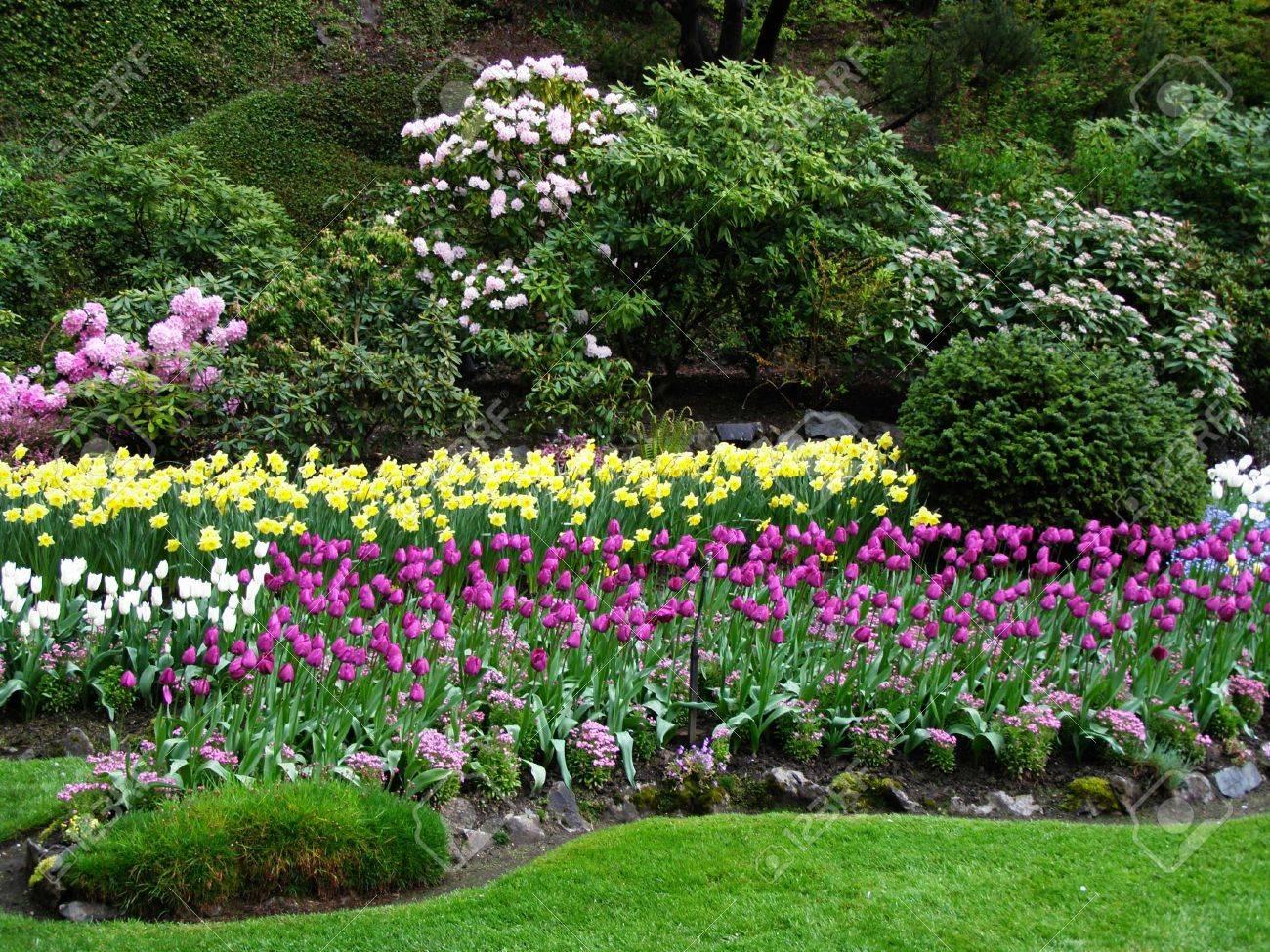 Spring in butchart gardens victoria canada stock photo picture spring in butchart gardens victoria canada stock photo 2659314 altavistaventures Choice Image