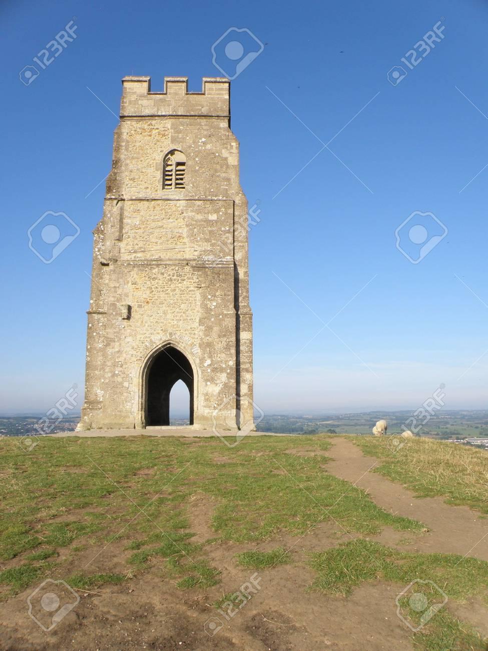 Glastonbury Tor Stock Photo - 7621595