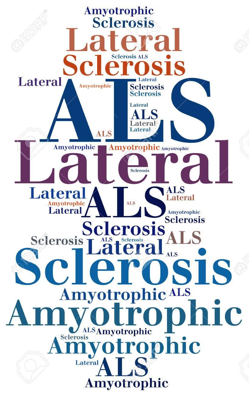 SLA - sclérose latérale amyotrophique. abréviation de la maladie.