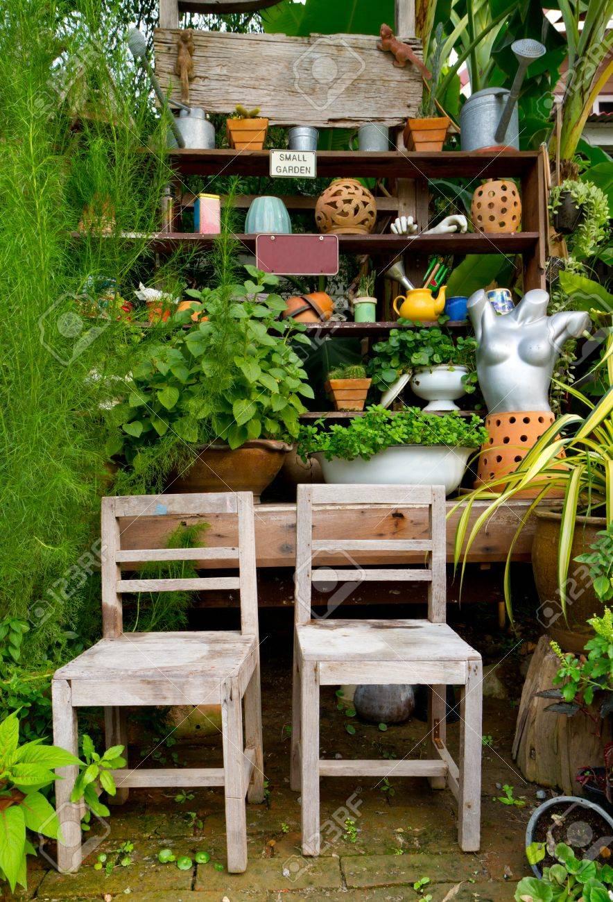 Decoration garden in home
