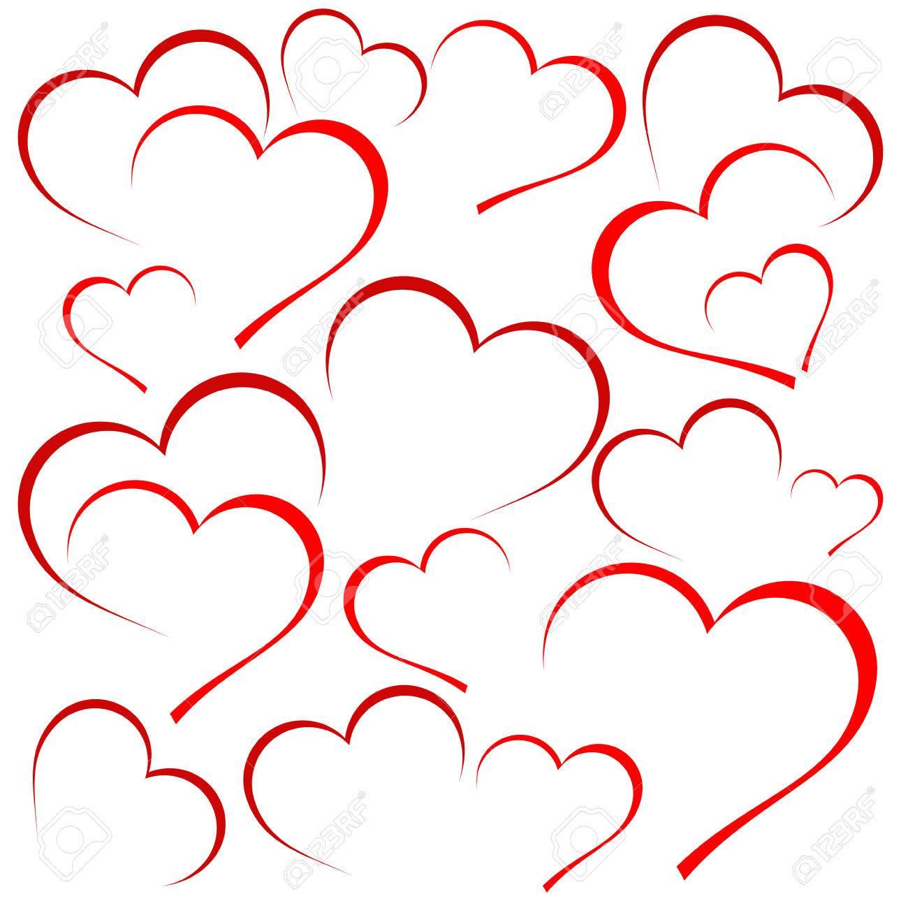 vector hearts background royalty free cliparts vectors and stock rh 123rf com vector hearts free vector heart ornament