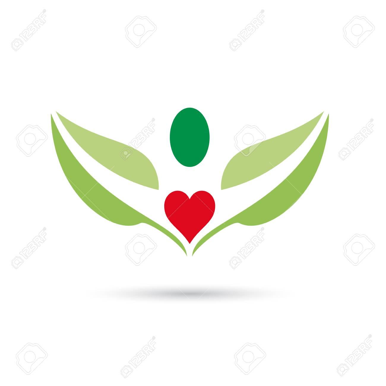 Vektor-Zeichen Herz Im Menschlichen Körper Lizenzfrei Nutzbare ...