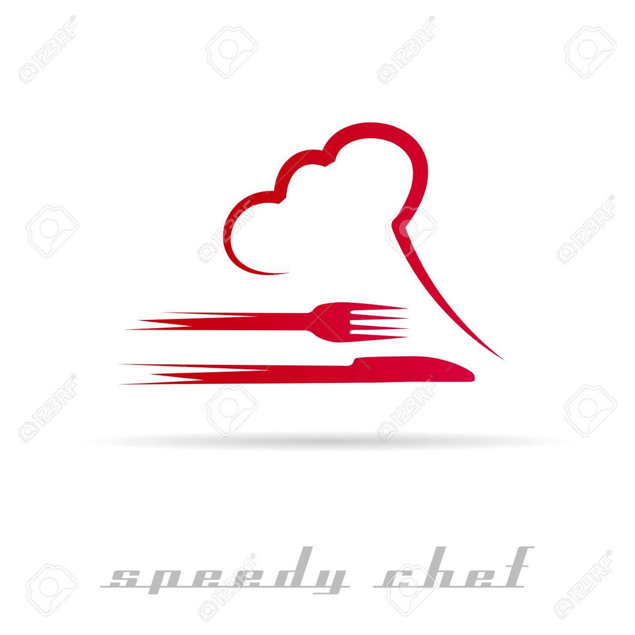 Vector Speedy Chef - 55683156
