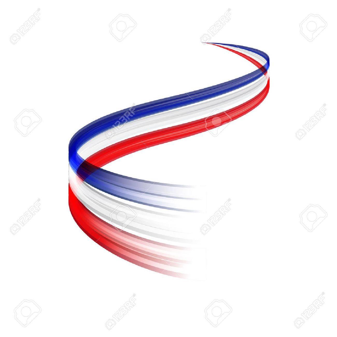 Zusammenfassung Vektor Wach Bewegend Dynamische Französisch Oder