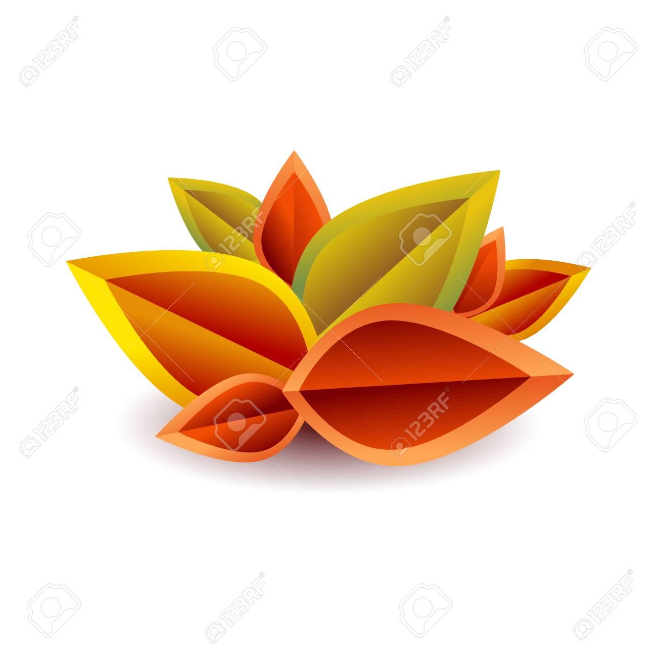 ベクトル枯れ葉秋の背景のイラスト素材ベクタ Image 57146492