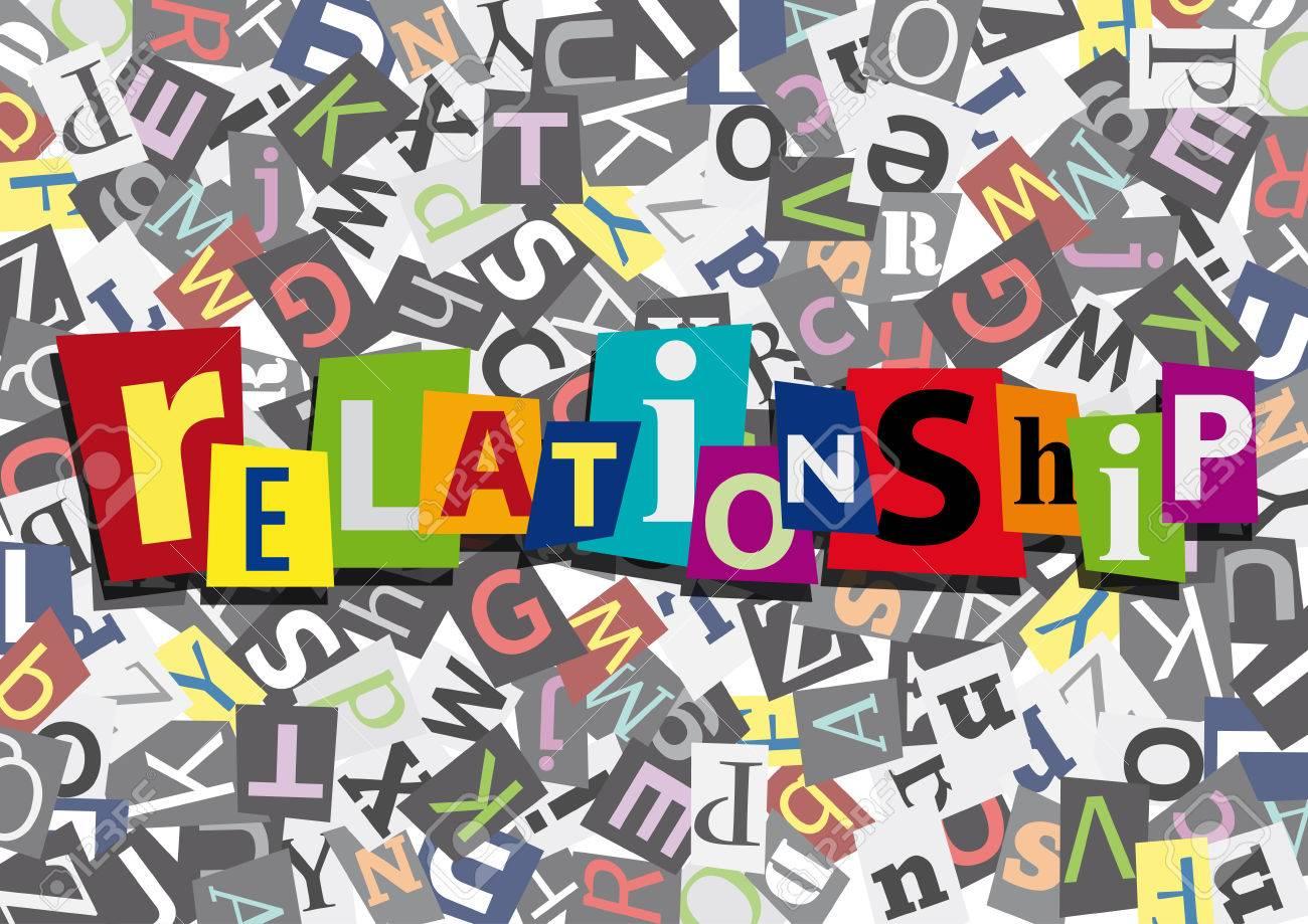 relationship in flat design - 61157310