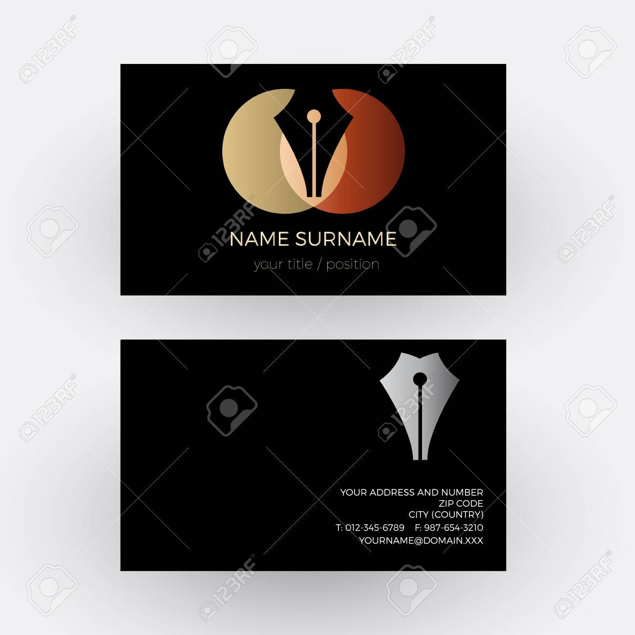 Writer Business Cards Images - Free Business Cards